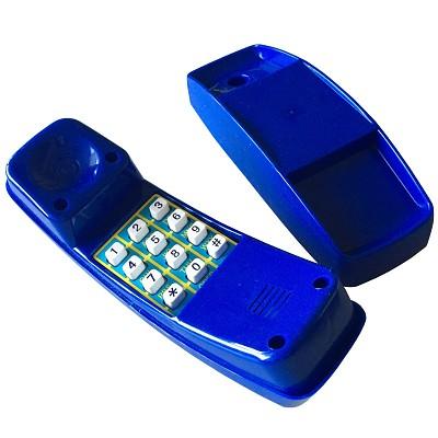 Kindertelefon Kunststoff blau