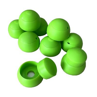 10er Set Abdeckkappen 8-10mm - apfelgrün