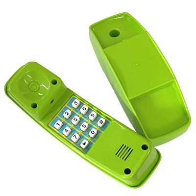 Telefon aus Kunststoff - apfelgrün