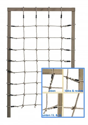 Kletternetz 125x200cm