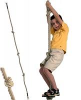 Kletterseil mit drei Knoten - Knotenseil Ø 18 mm, 1,90 m lang