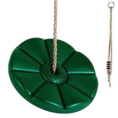 Tellerschaukel Affenschaukel aus Kunststoff, grün