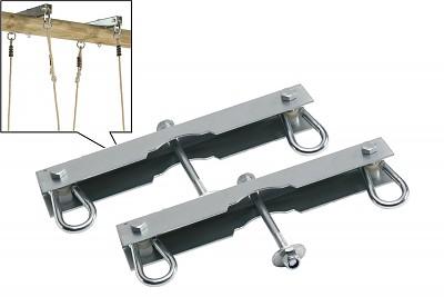2er Set Haken für Doppelsitz- Schaukeln