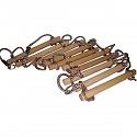 Strickleiter mit 10 Sprossen Länge 3,50 m