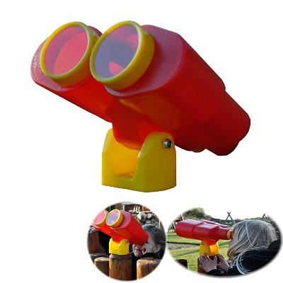 Fernglas Fernrohr Spielzeug für Baumhaus, Spielturm, Spielhaus, Kletterturm