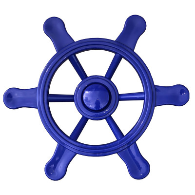 Piratenlenkrad blau