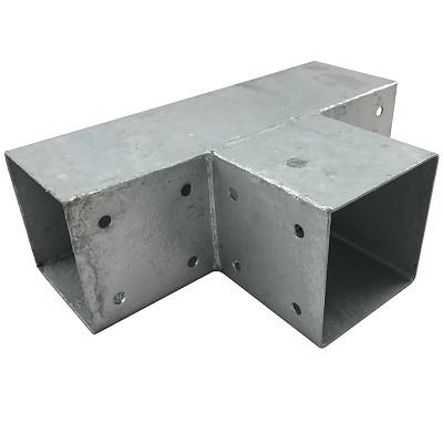 Holzverbinder Quadrat 3-Wege 90x90cm 2mm feuerverzinkt