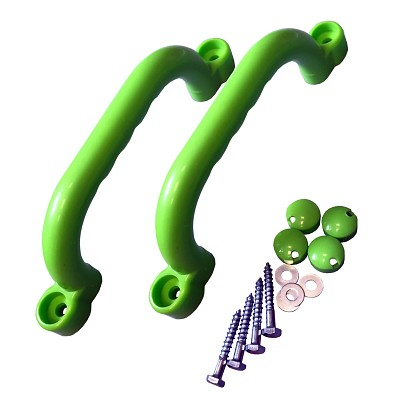 Handgriffe (2 Stück) apfelgrün Kunststoffhandgriffsatz