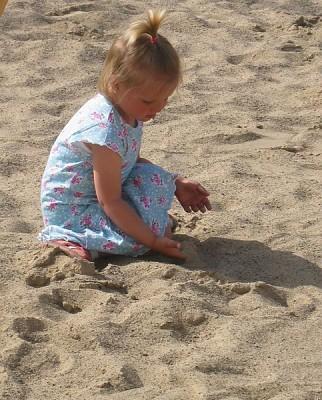Sandkasten Spielsand 125kg