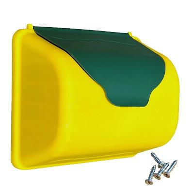HP-Briefkasten  gelb/grün