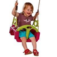 Schaukelsitz 3 in1 Kinderschaukel Schaukel Babyschaukel Babyschaukelsitz Kinde