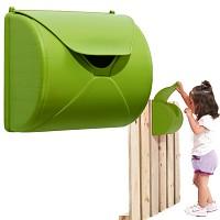 Kinder Briefkasten für Spielturm oder Spielhaus apfelgrün - B-Ware