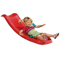 Kleinkindrutsche Rutsche Babyrutsche 1,17m rot Spielturm