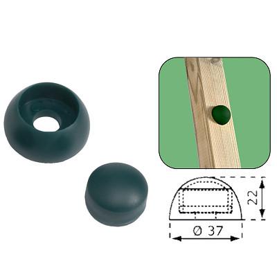 10er Set Abdeckkappen 8-10mm - grün