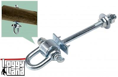 Haken für Schaukeln 'durch' - Typ D  - Stablänge 160mm