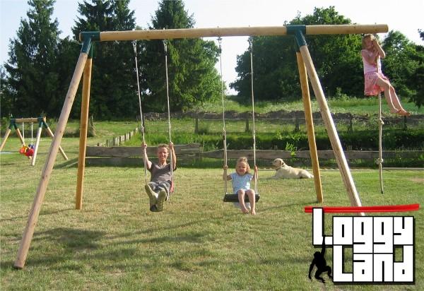 Loggyland Klettergerüst : Loggyland spielplätze