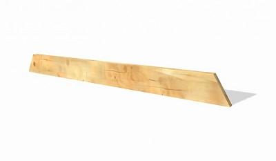 Lärchenholz Podestträger Schaukel 4,5 x 11 x 153cm