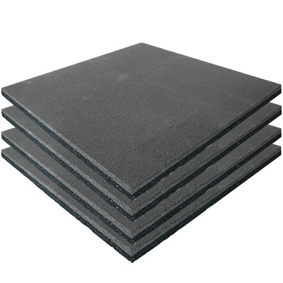 4er Set Spielplatz Fallschutzmatten grau