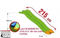 Anbaurutsche Wellenrutsche 2,15m