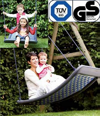 Mehrkinderschaukel Familienschaukel Therapieschaukel STANDARD L - 136 x 66 cm