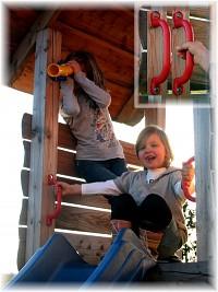Haltegriffe für Spieltürme und Spielplätze