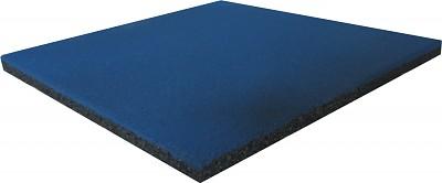 Spielplatz Fallschutzmatte blau