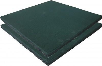 2er Set Spielplatz Fallschutzmatten grün