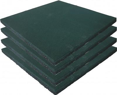 4er Set Spielplatz Fallschutzmatten grün