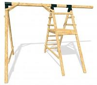 Grundgerüst für das Spielplatz Set ULTIMATE Höhe: 2,10m