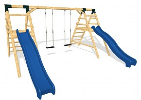 DOUBLE Spielplatz Set
